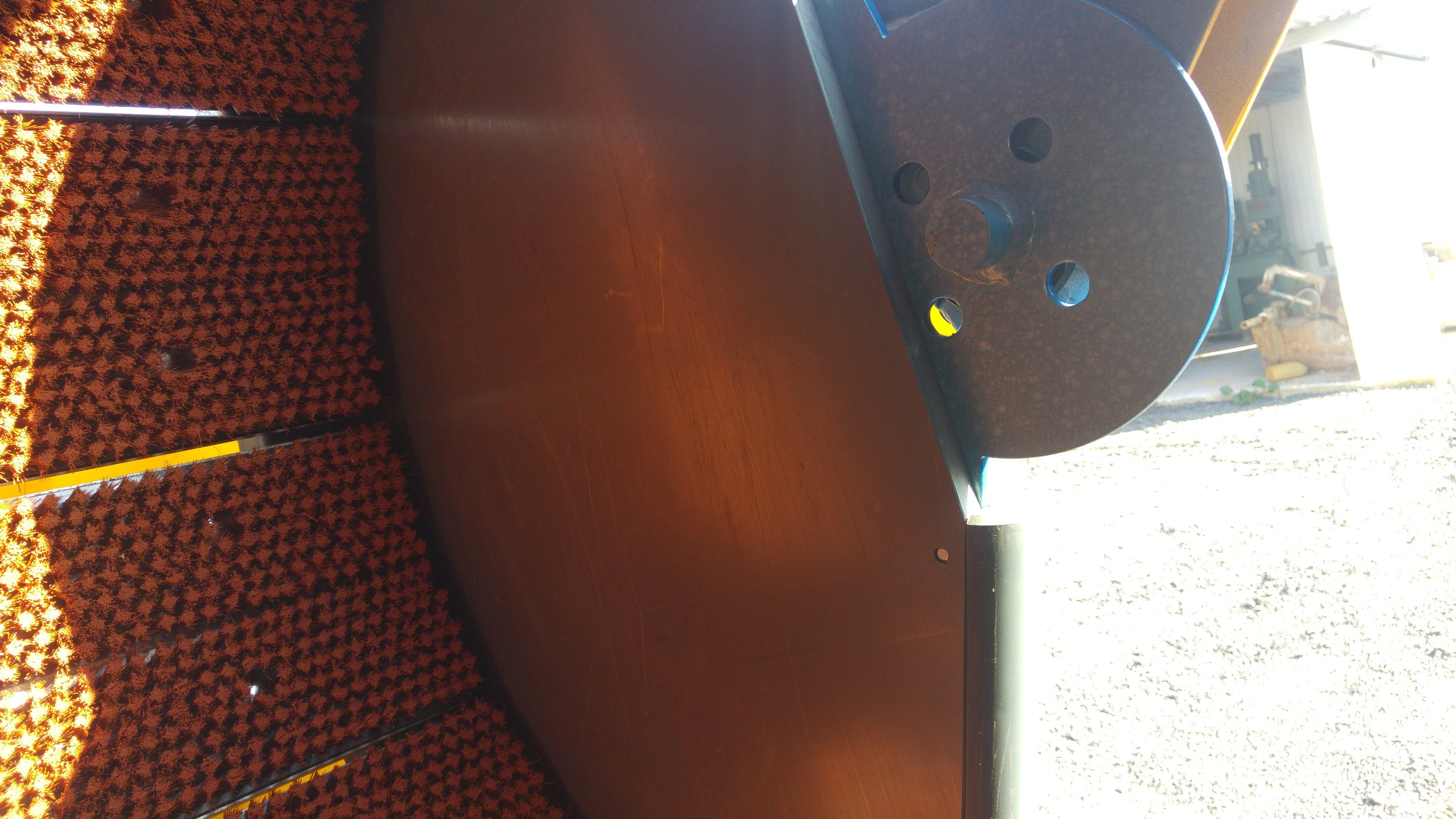 Πλαστικό PVC εσωτερικά της πόρτας