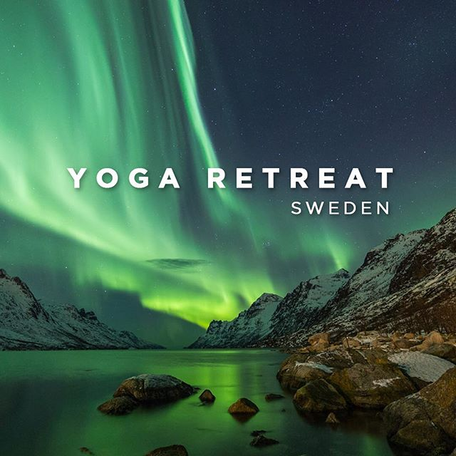 Happy Journey Sweden; this fall @joyofyoga.be and I are offering a Scandinavian Experience. Back to Nature; breathing clean air, taking time to relax and move in the stunning surroundings of the Swedish countryside - ONLY A FEW SPOTS LEFT