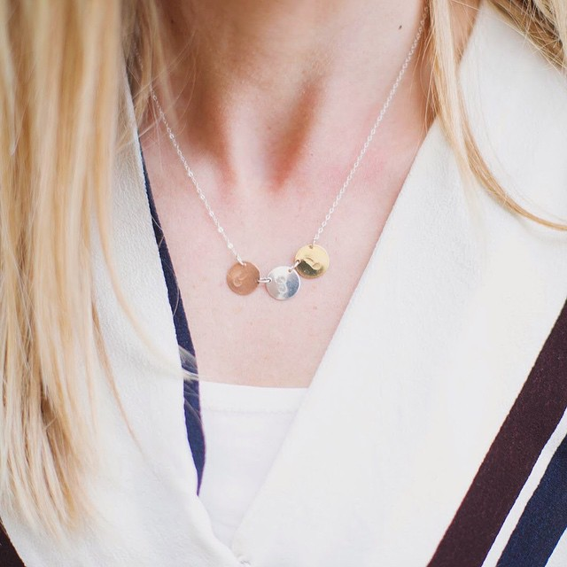 Personalized Necklace -  Everyday Necklace - Initial Necklace