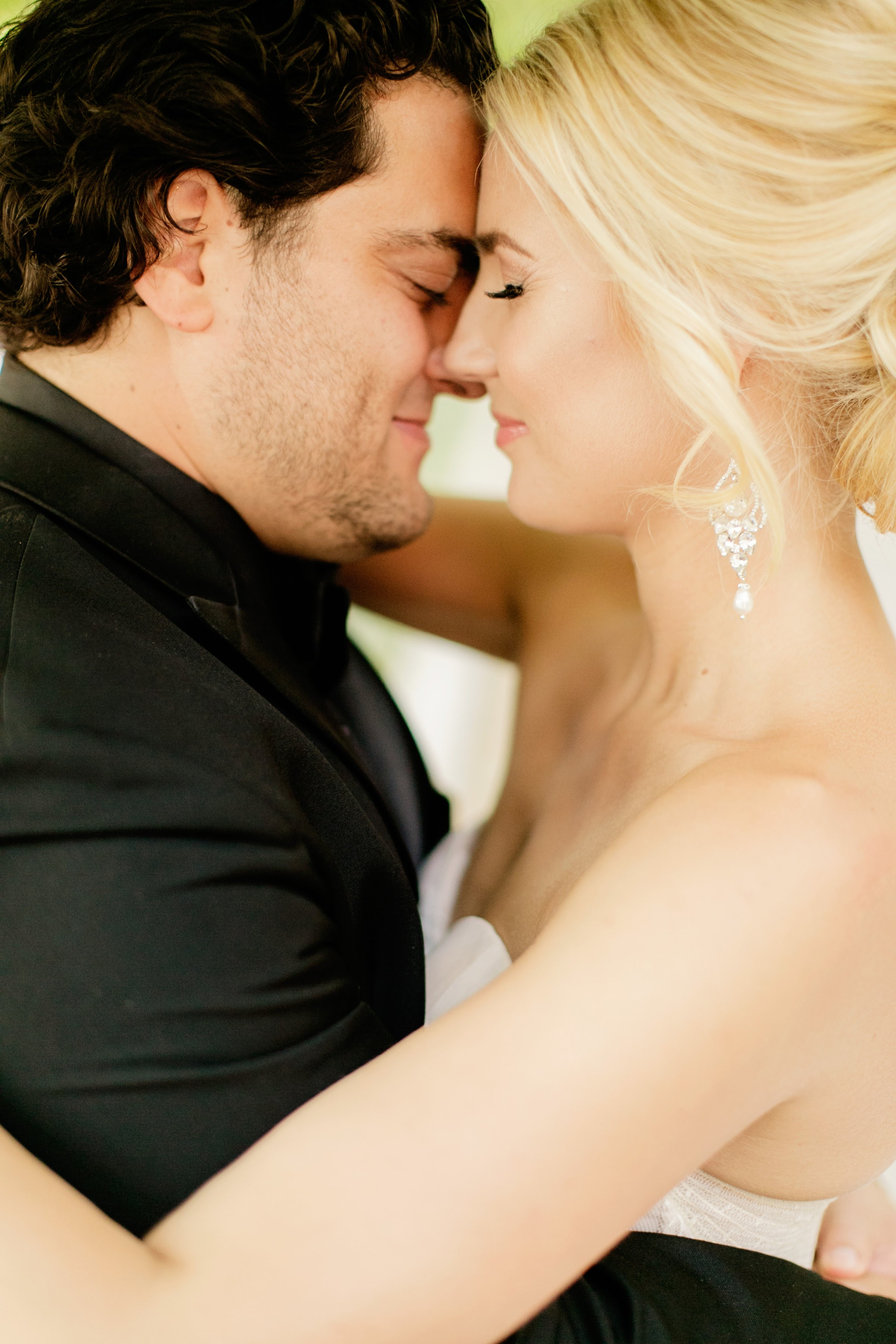 Crystal and Pearl Earrings - Elegant Wedding Jewelry
