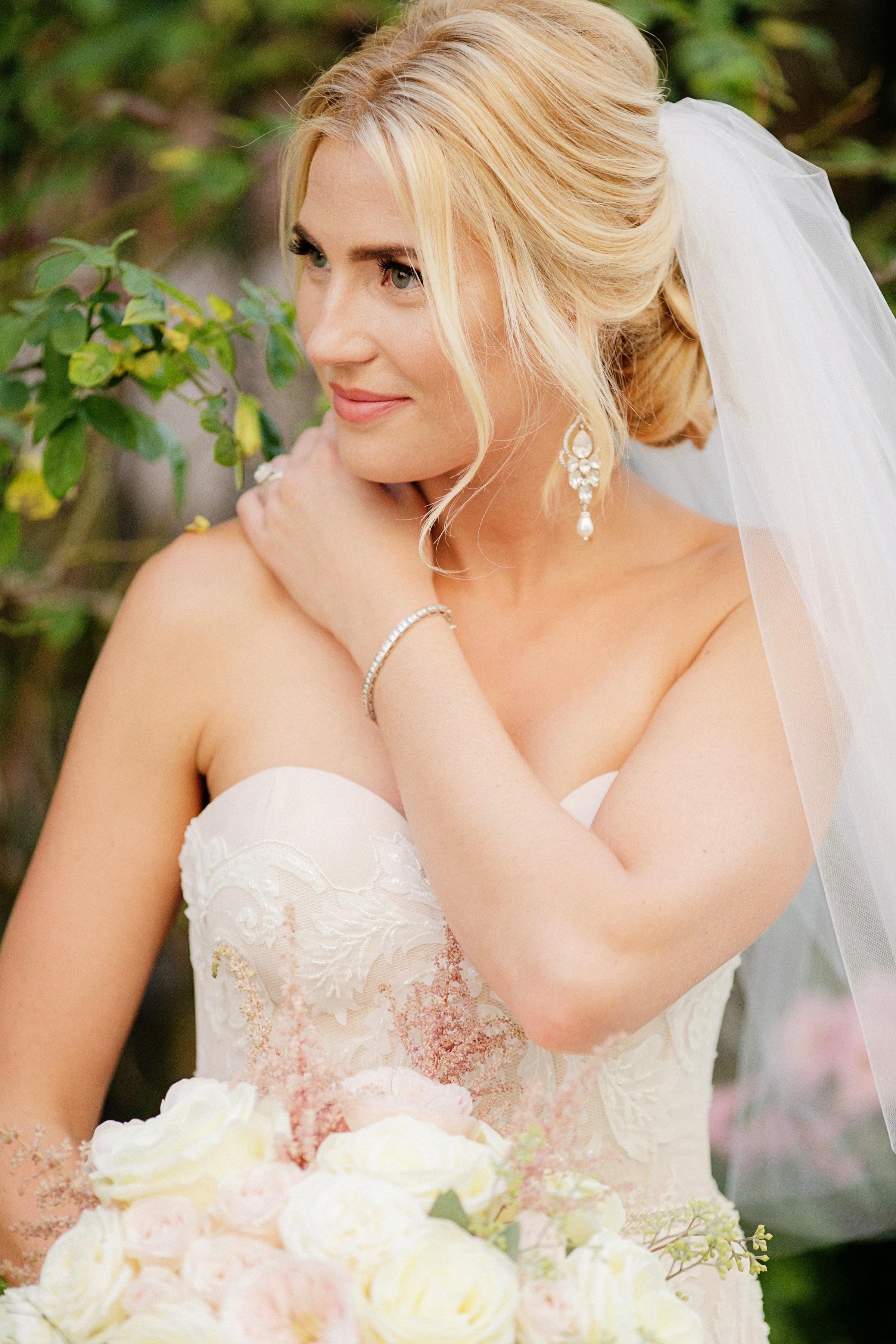 Crystal Bridal Earrings - Wedding Jewelry