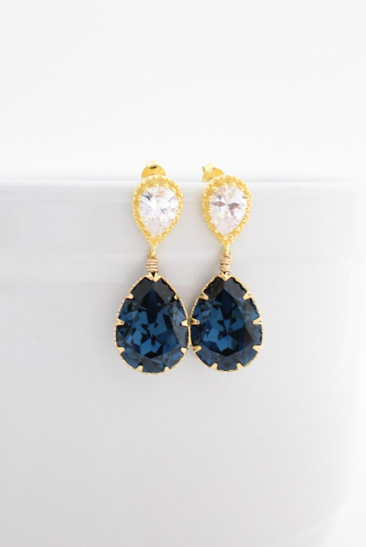 Swarovski Earrings - Wedding Earrings