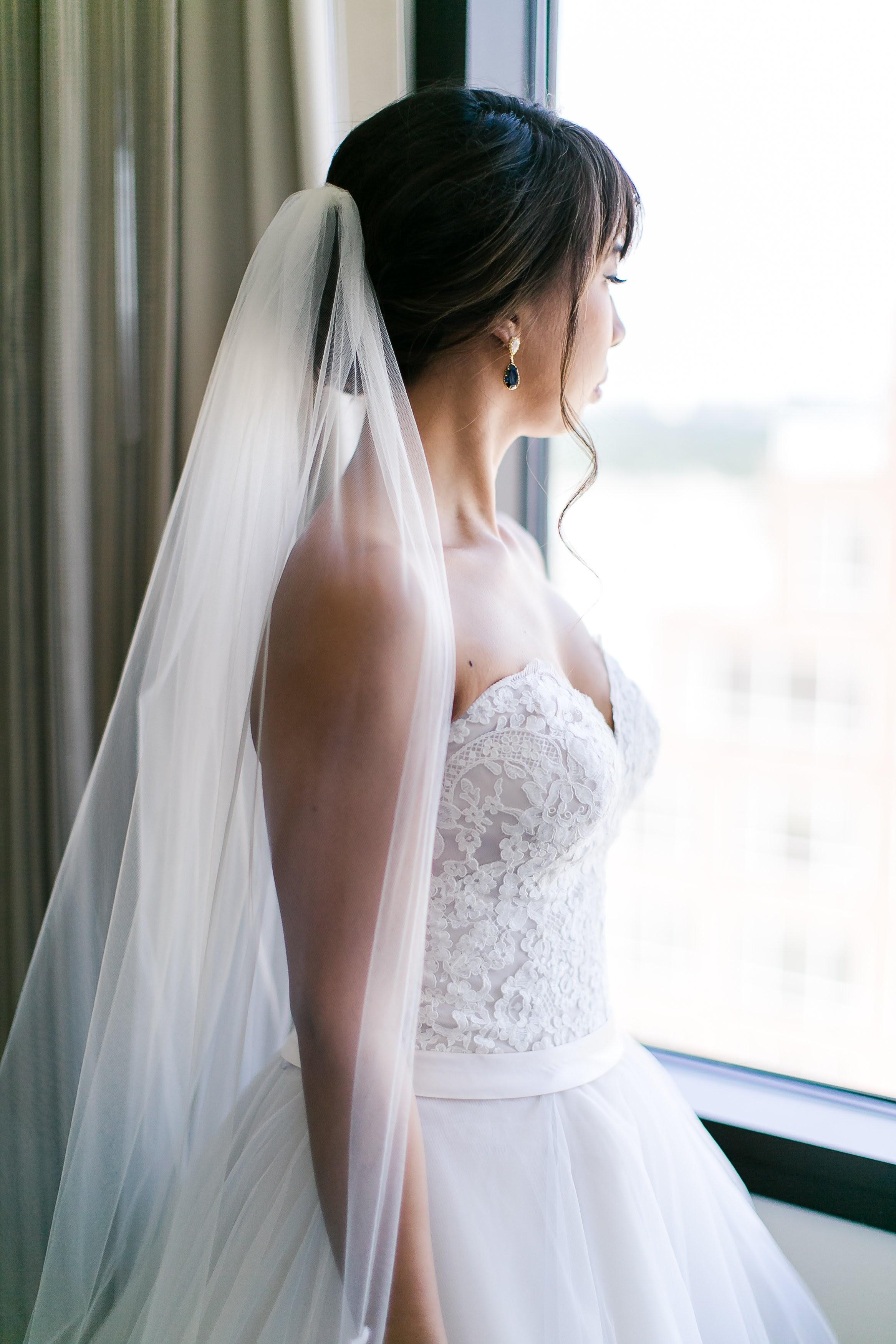 Bridal Jewelry - Blue Earrings - Swarovski Earrings