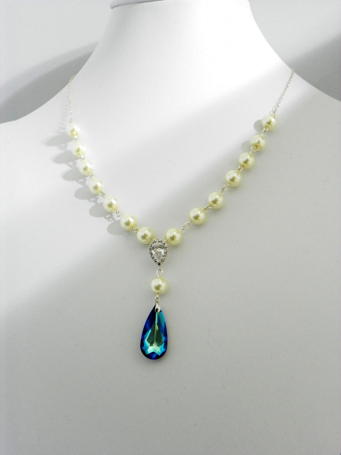 Pearl Necklace - Bridal Necklace
