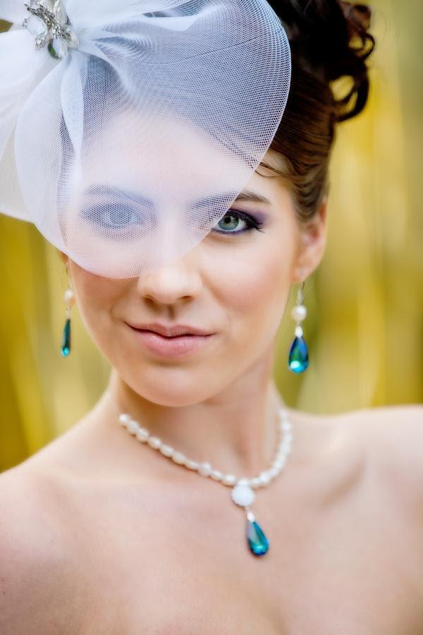 Peacock Jewelry - Peacock Wedding