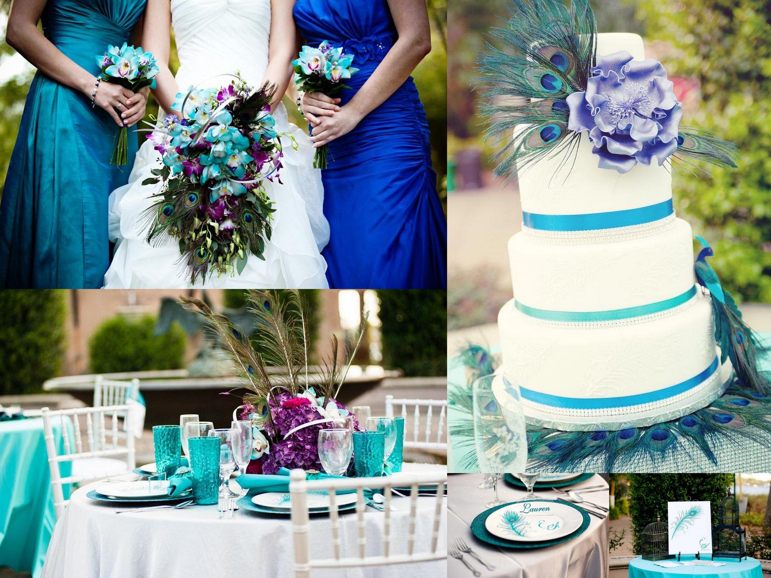 Peacock Wedding - Wedding Jewelry