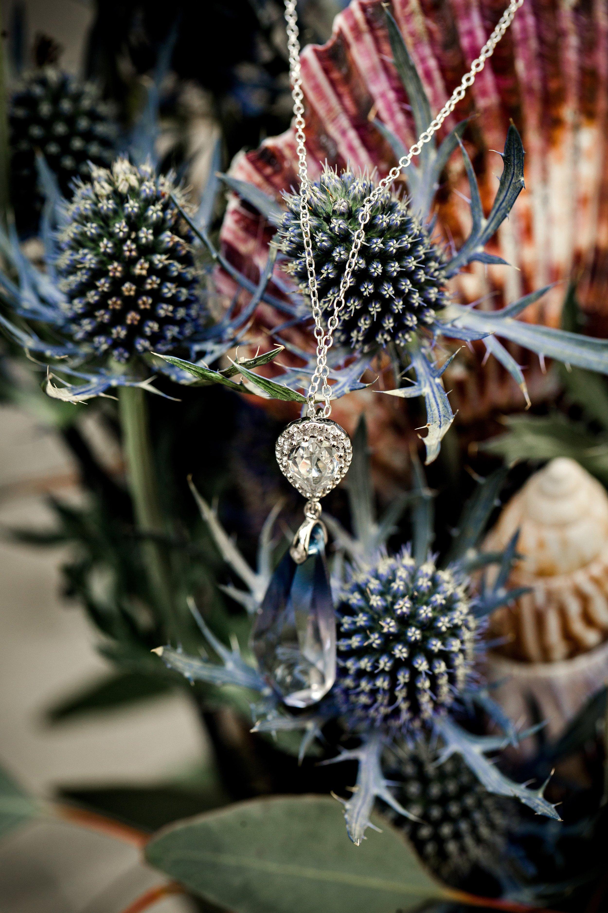 Bridal Necklace - Swarovski Necklace