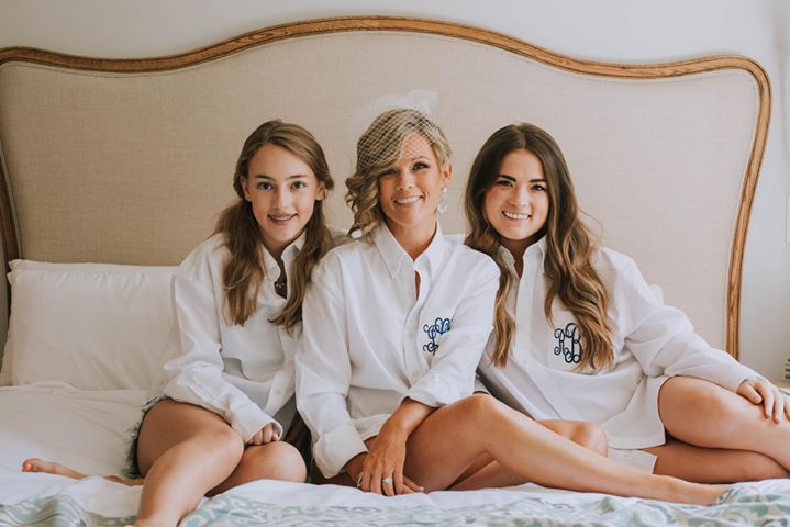 Jennifer and her daughters at The Roost. Picture by  The Youngs .
