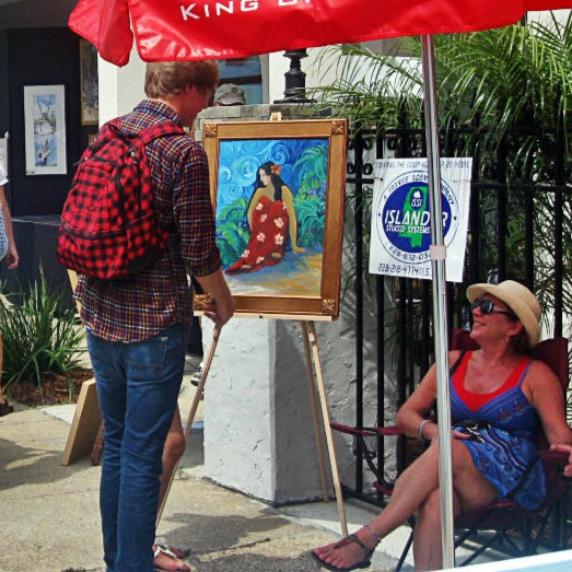 Artwalk - August 31, 2019Artwalk takes place every Labor Day weekend and kicks off the fall festival season for downtown Ocean Springs! This festival really brings artwork out and into the streets with local artists setting up shop at various businesses downtown and demonstrating their skills to the public! Watch as watercolors come to life right before your eyes and purchase local artisans' handmade treasures while shopping at some of your favorite downtown boutiques and galleries.