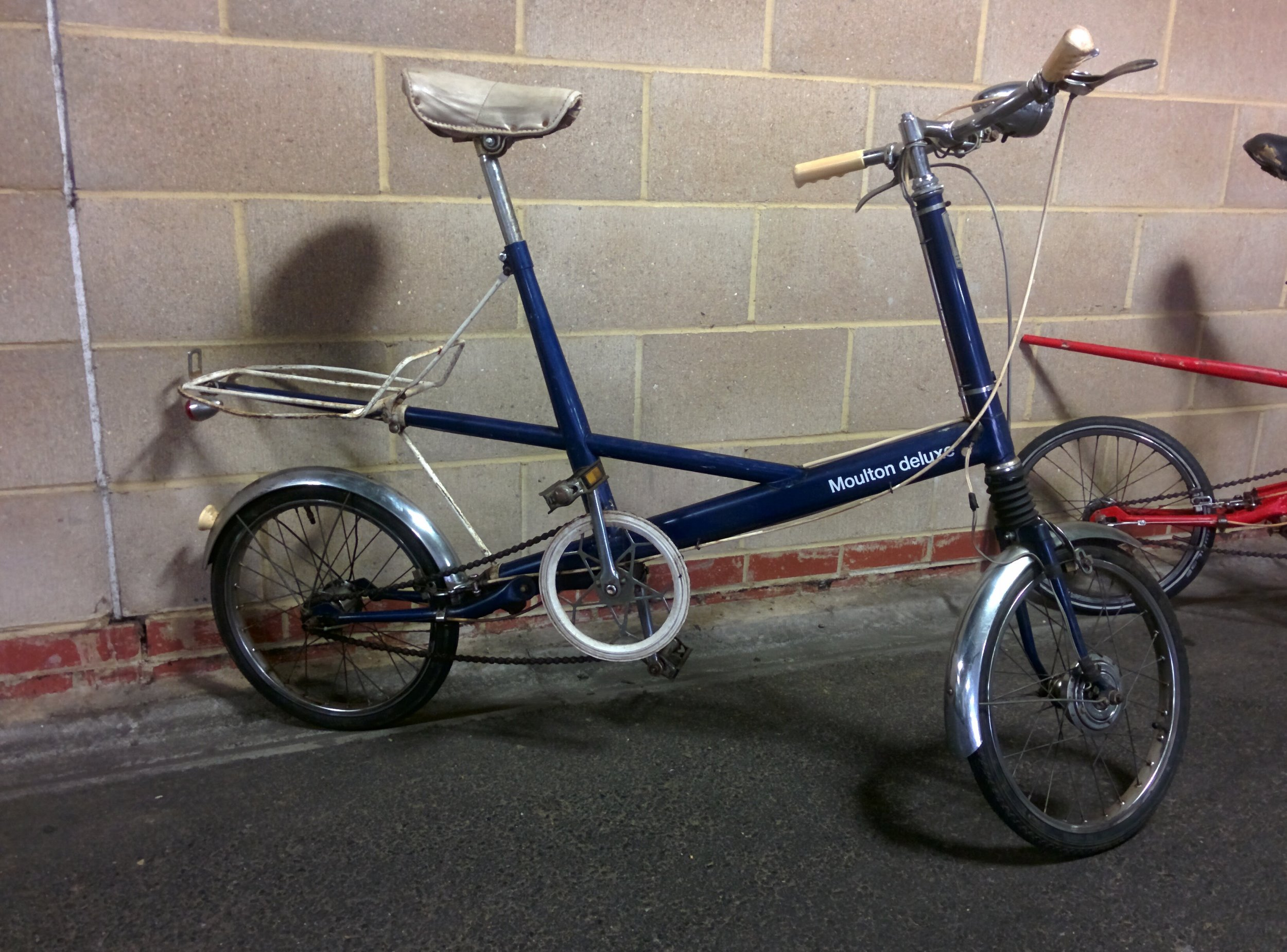 1965 Moulton Deluxe (Dynahub)  - For Sale   Servicing -  Full drivetrain service and bottom bracket refit   August / September 2016