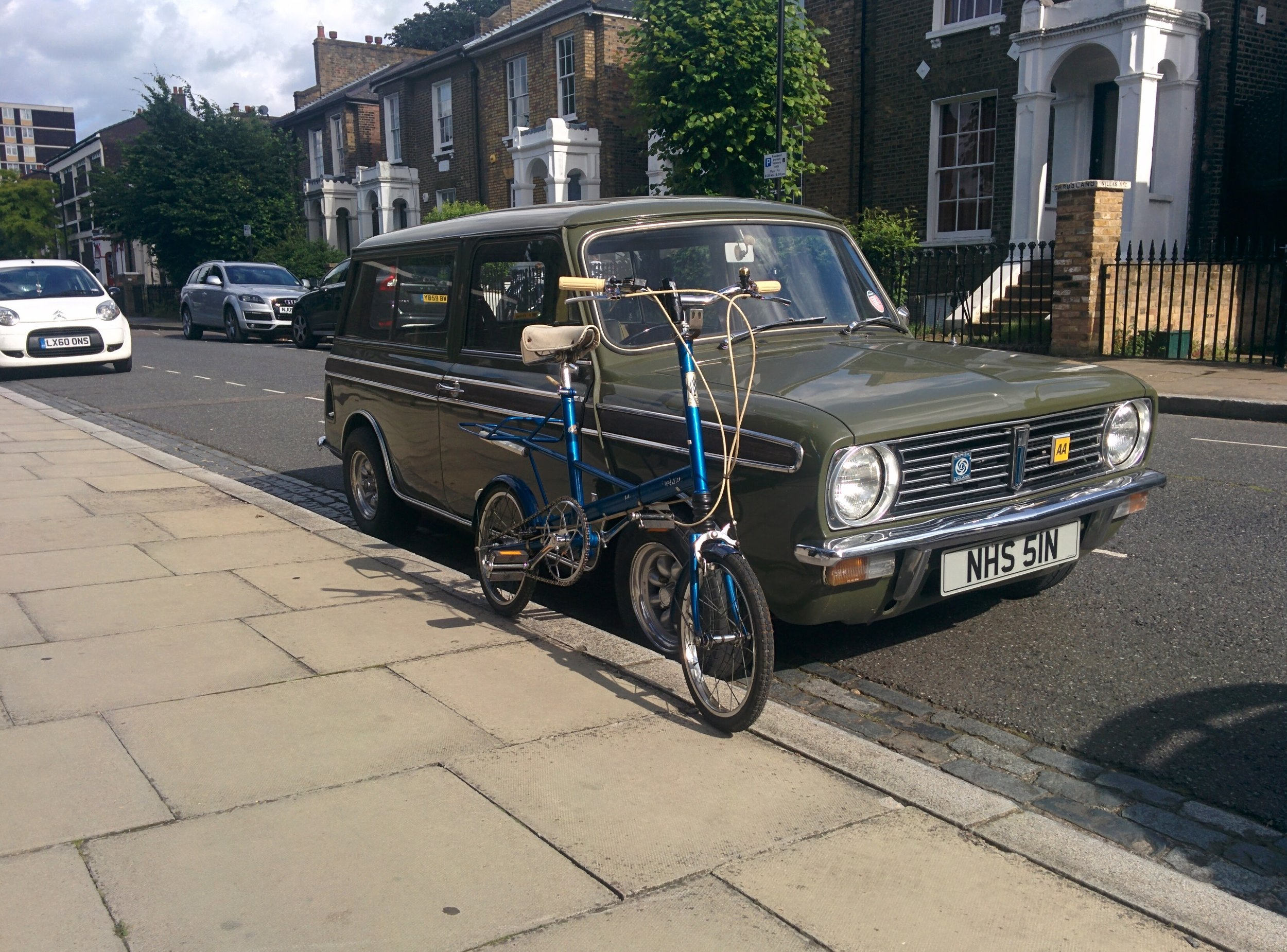 1966 Moulton Mini Deluxe  - Sold   Servicing -  Full strip down, clean and rebuild, new chain, tyres   June / July 2016