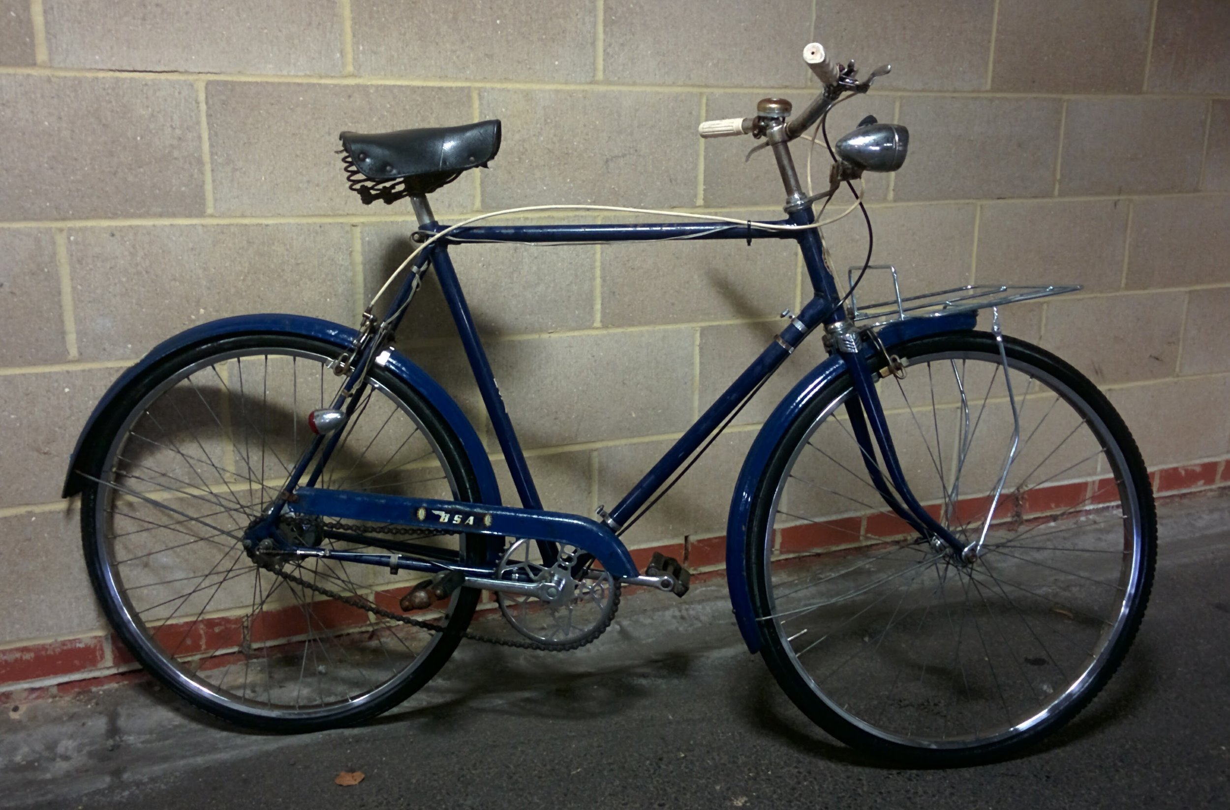 1967 Birmingham Small Arms (BSA) - Sold   Servicing - Sturmey Archer AG Dynohub check and clean   December 2016 / January 2017