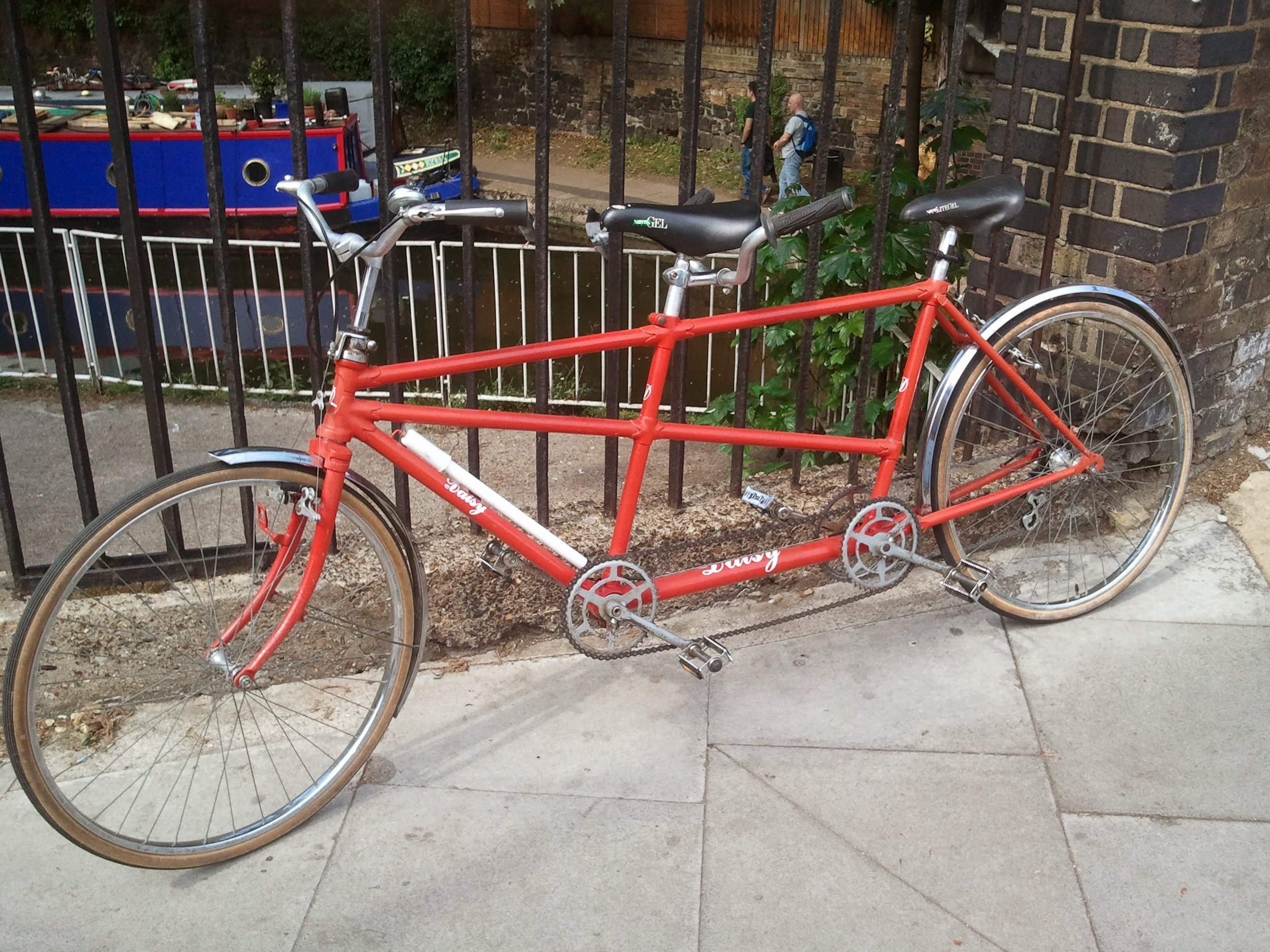 Circa 1950's tandem  - Sold   Servicing  - new timing chain   July 2015