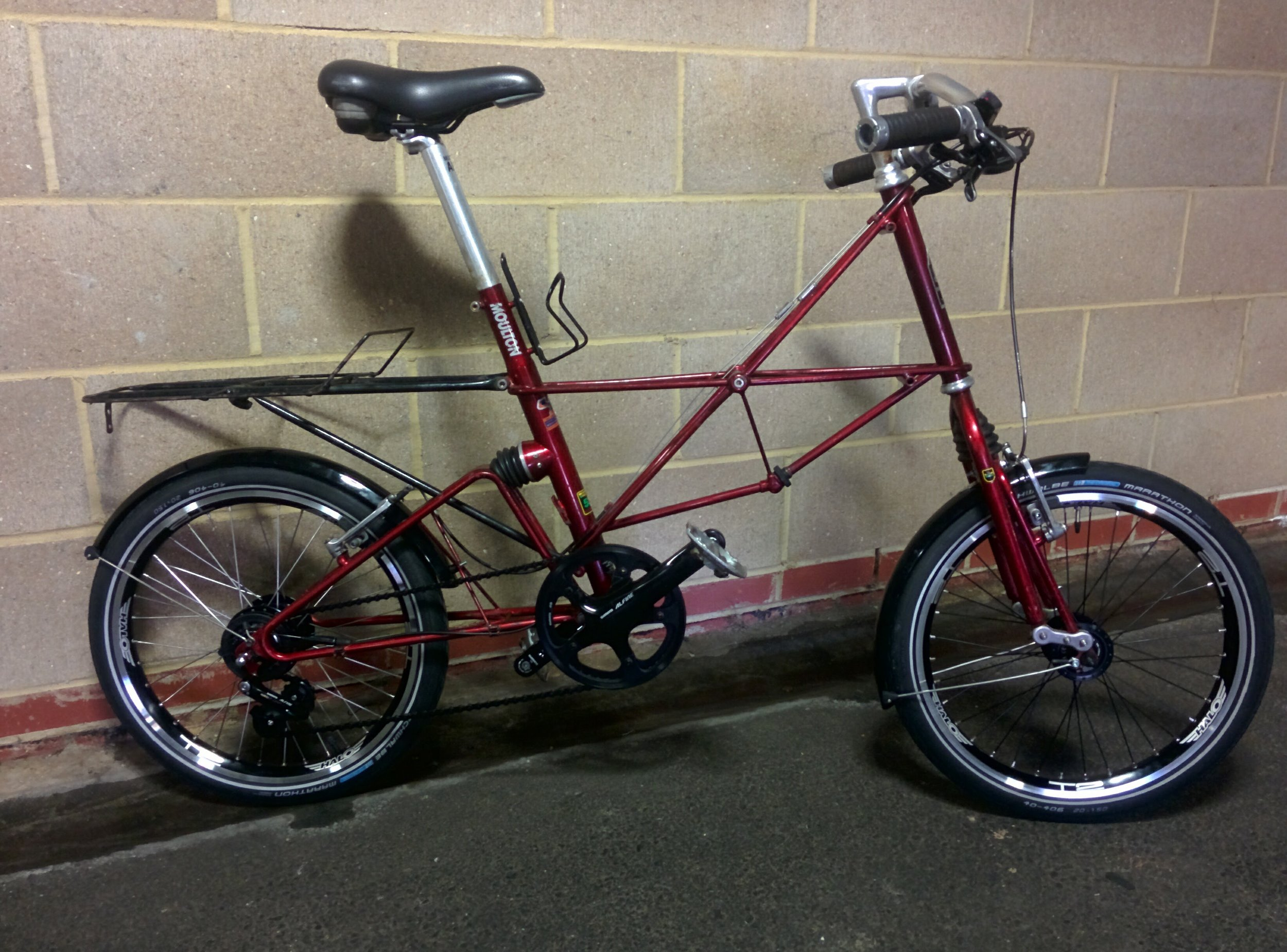 2000's Moulton APB - Not for sale   Servicing - New tyres, bars, wheels, groupset (Shimano Alfine)   November 2016 / January 2017