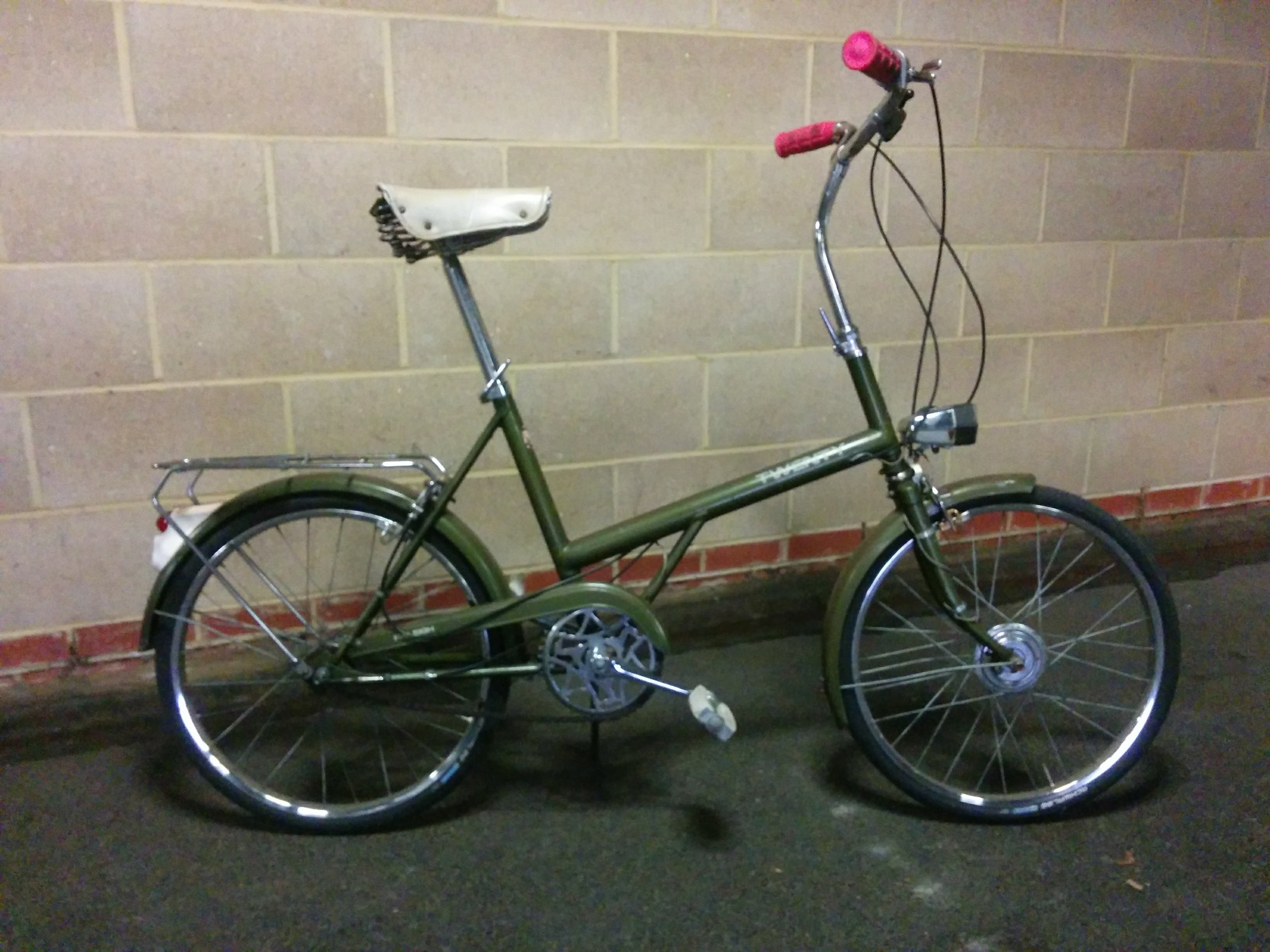 1970 Raleigh 20 - For Sale   Servicing - Clean, new cable set   August 2017