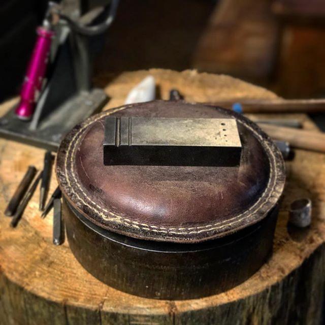 Happy Place. . . . . . . #metalsmithing #toolporn #makingstuff #handmade #jewelrymaking #jewelersbench #artistsoninstagram