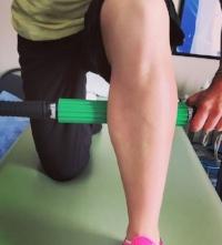 Self tissue mobilization for the calf.