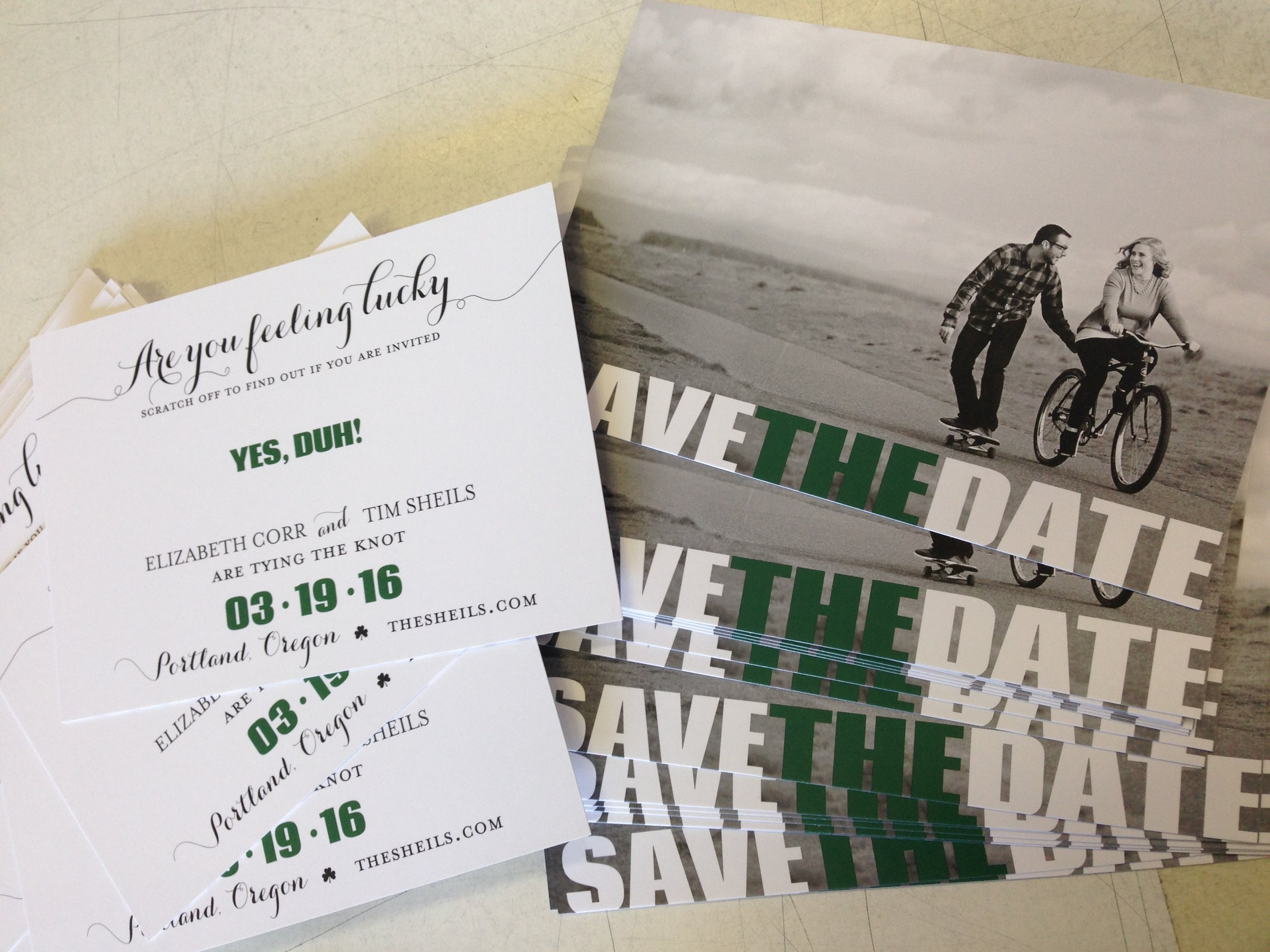 Crave Design | Custom Stationery | Save the Date