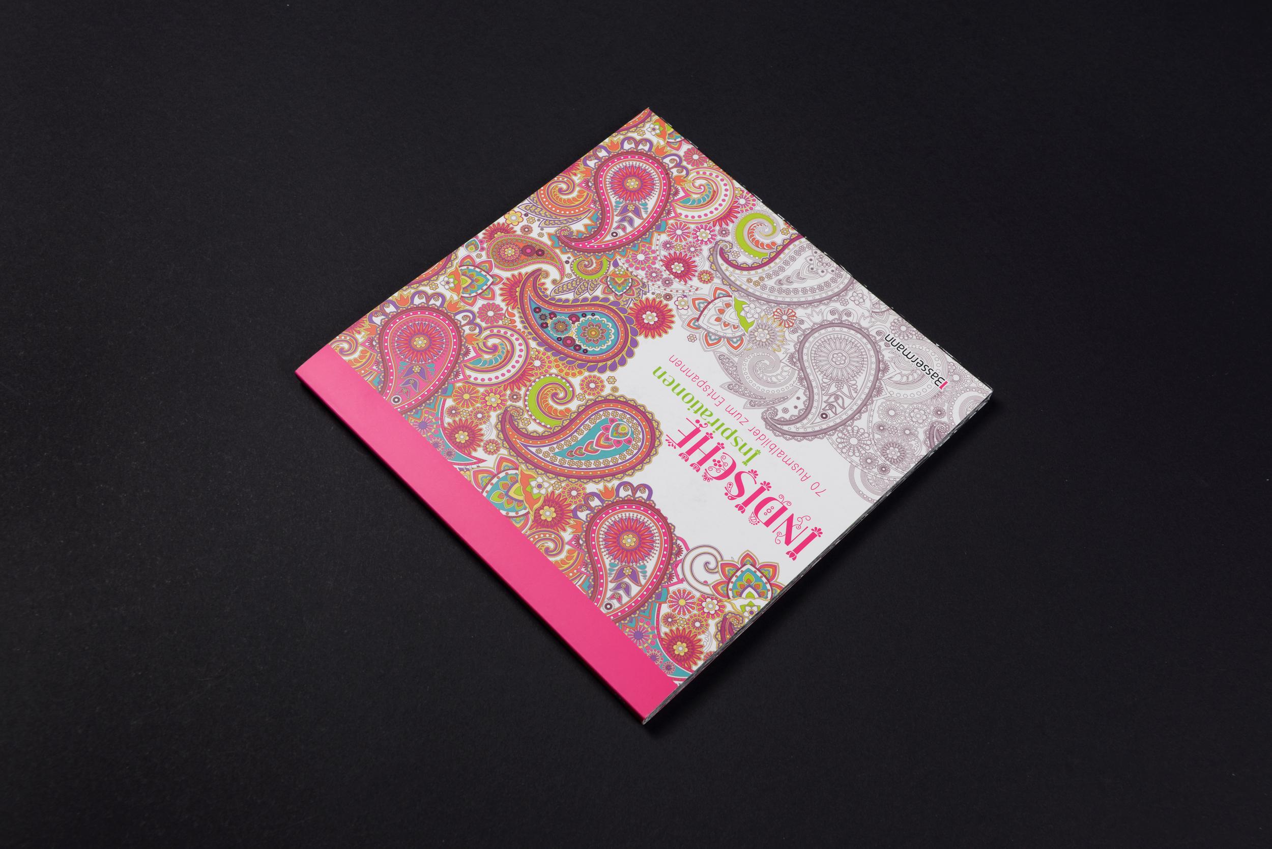 """Coloring Book """"Indische Inspirationen"""""""