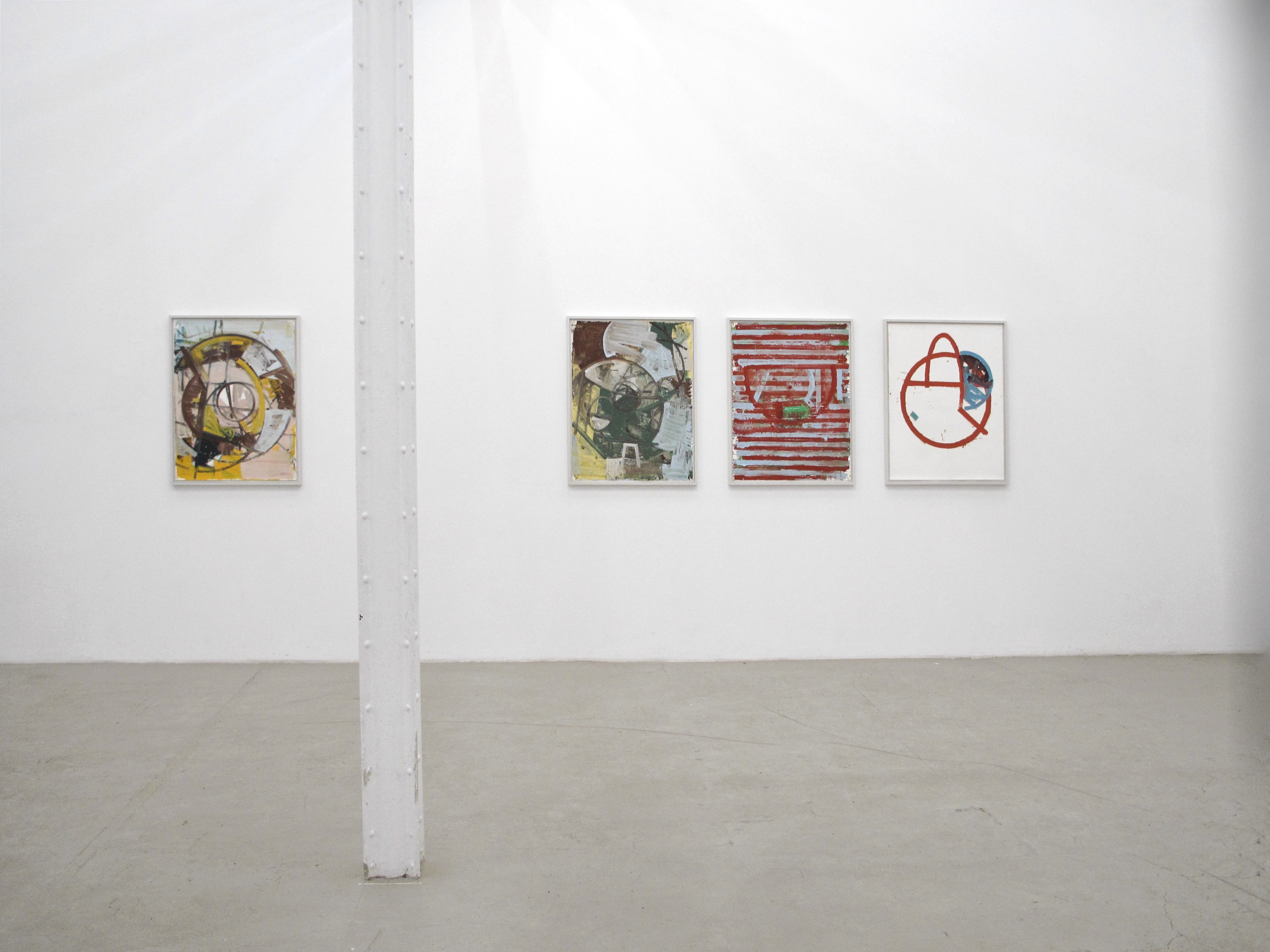 Paintings on paper (2011)