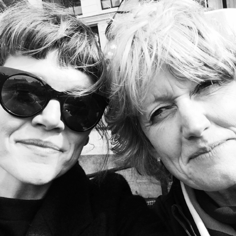 This is a pic of my mum and I in Amsterdam last year. Working together, we don't get much time to hang out as mother and daughter so this was very special.