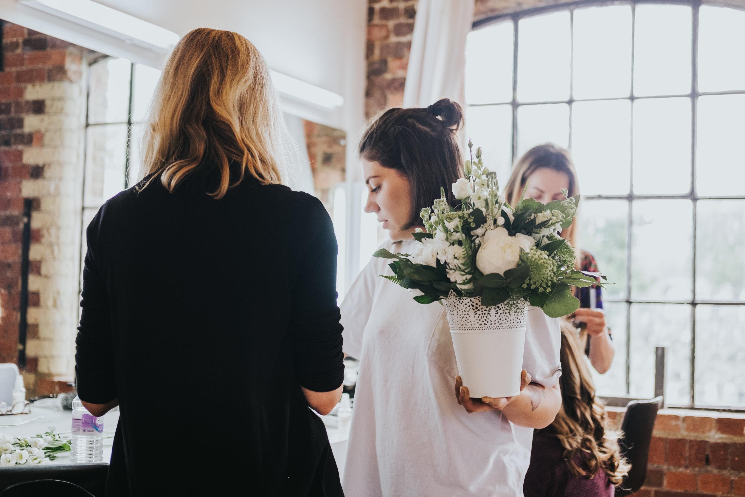 Sapphire Bates, aka  The Flower Arranger