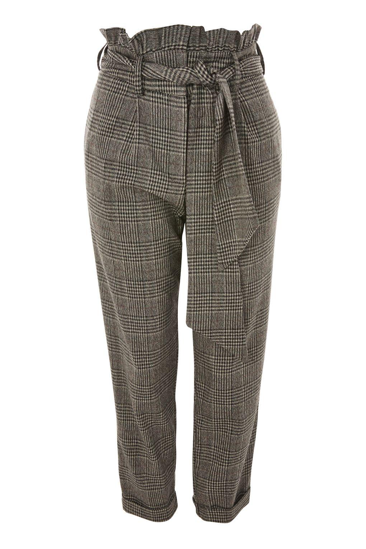 Tie waist trousers, £42, Topshop