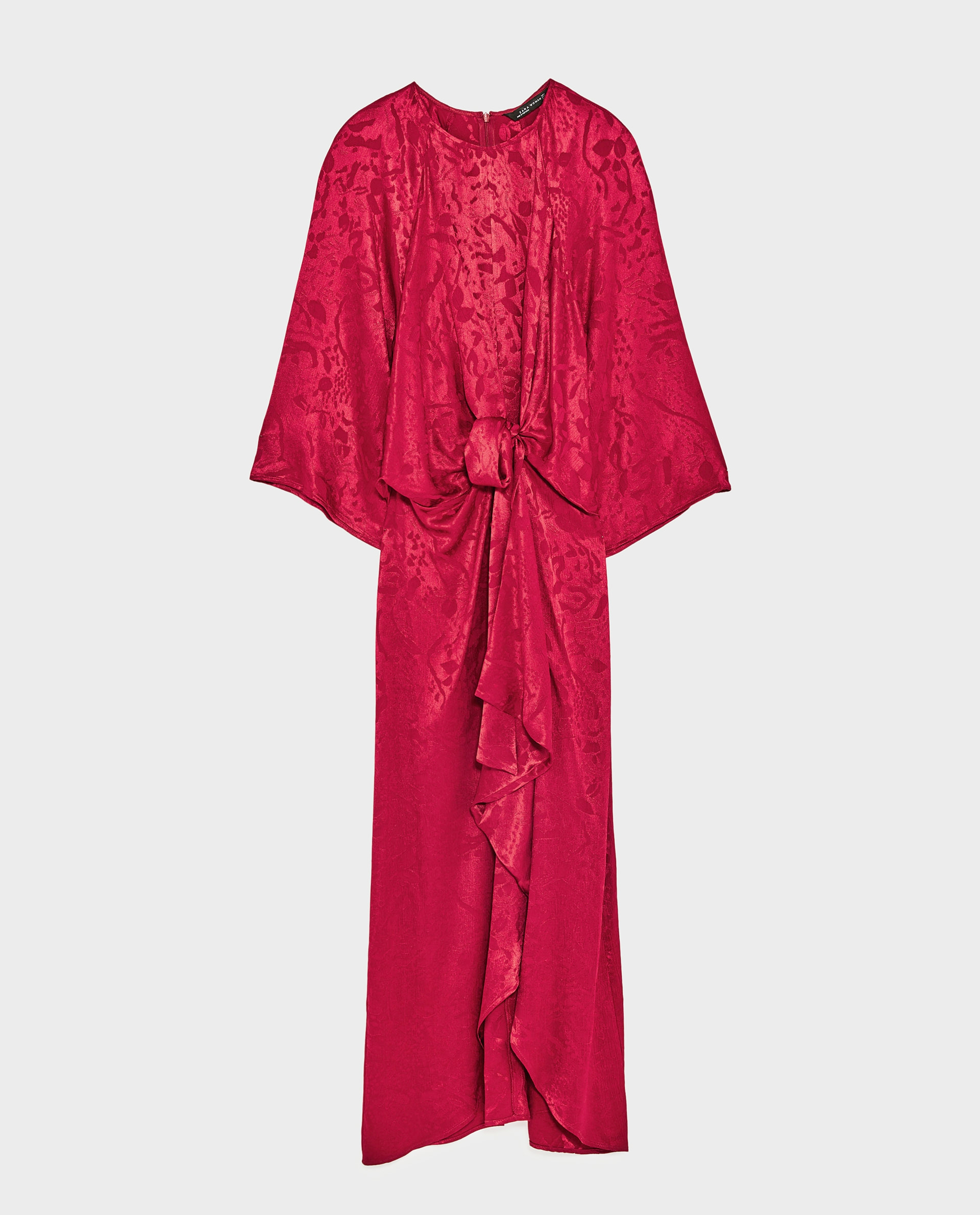 Dress, £69.99, Zara