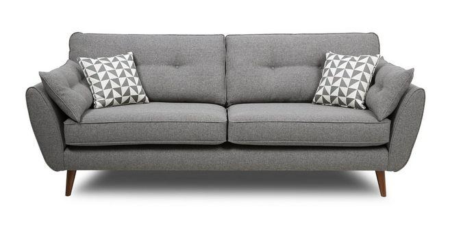 DFS Zinc Express 4 seater sofa