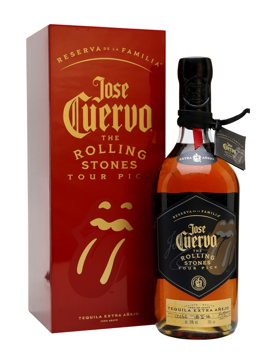 Jose Cuervo Reserva La Familia Rolling Stones Tour Pick, £94.95, The Whisky Exchange
