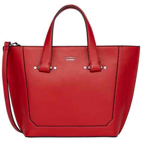 Fiorelli Tisbury Mini Tote Bag, Pillar Box Red, £60, John Lewis