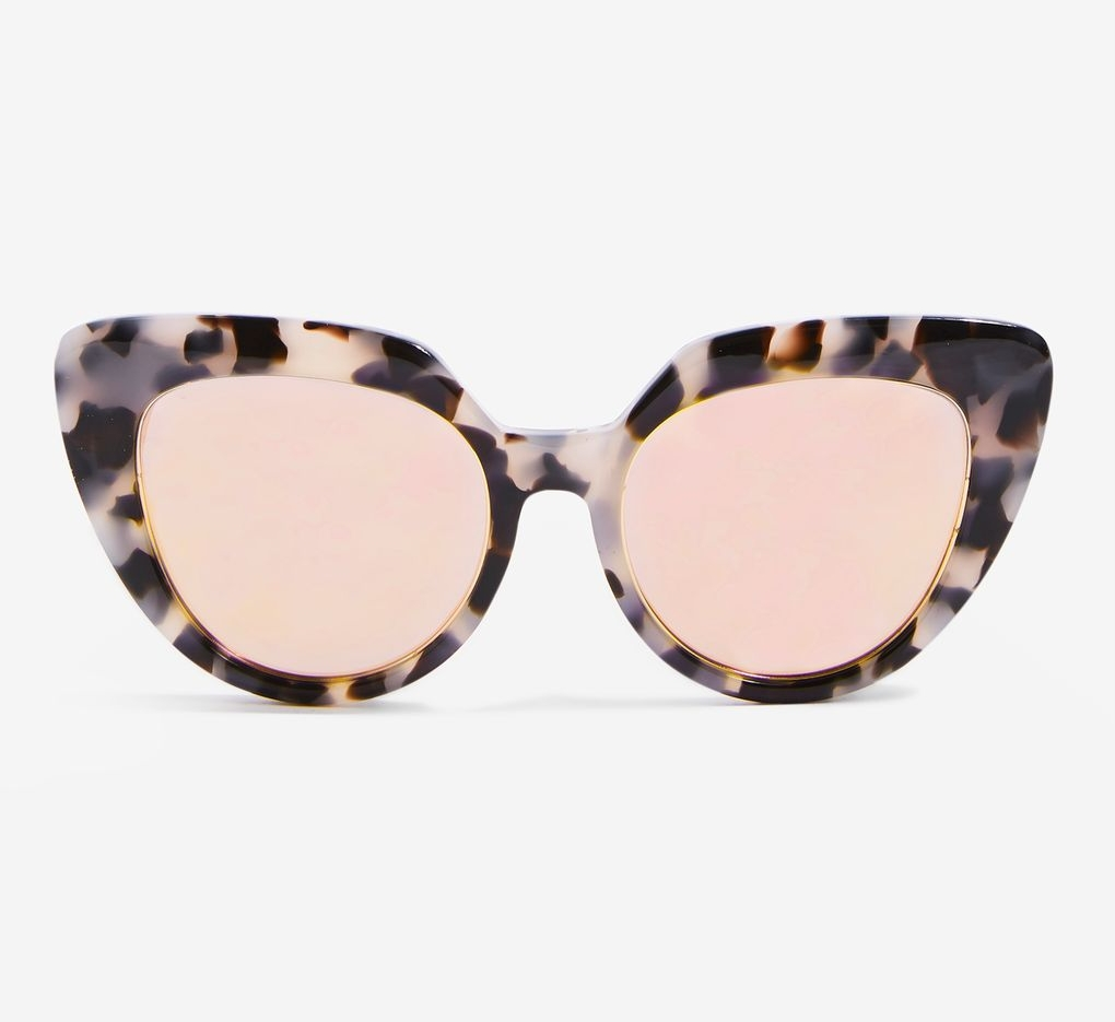 Handmade Premium Acetate Square Frame Sunglasses, £55, Limited Edition at Topshop