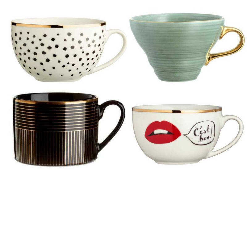 Porcelain mugs, £2.99 - £6.99, H&M