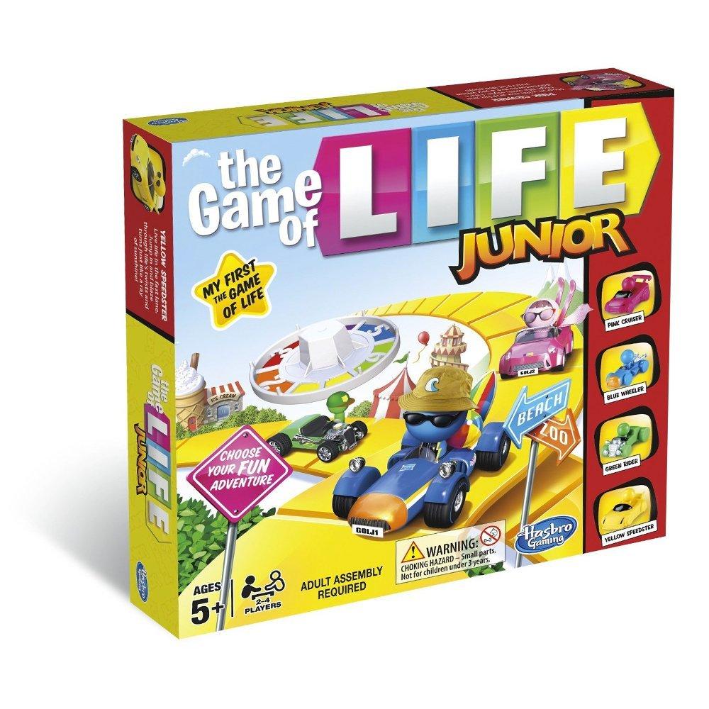 The Game of Life Junior, £11.99, Amazon