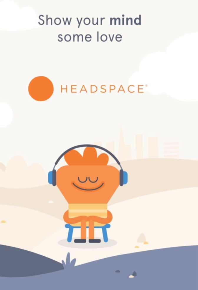 Give the gift of headspace, 1M or 12M subscription - £9 - £71.88, Headspace