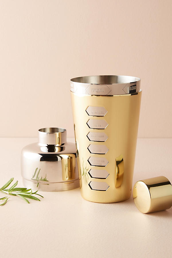 Oana Cocktail Shaker, £44, Anthropologie