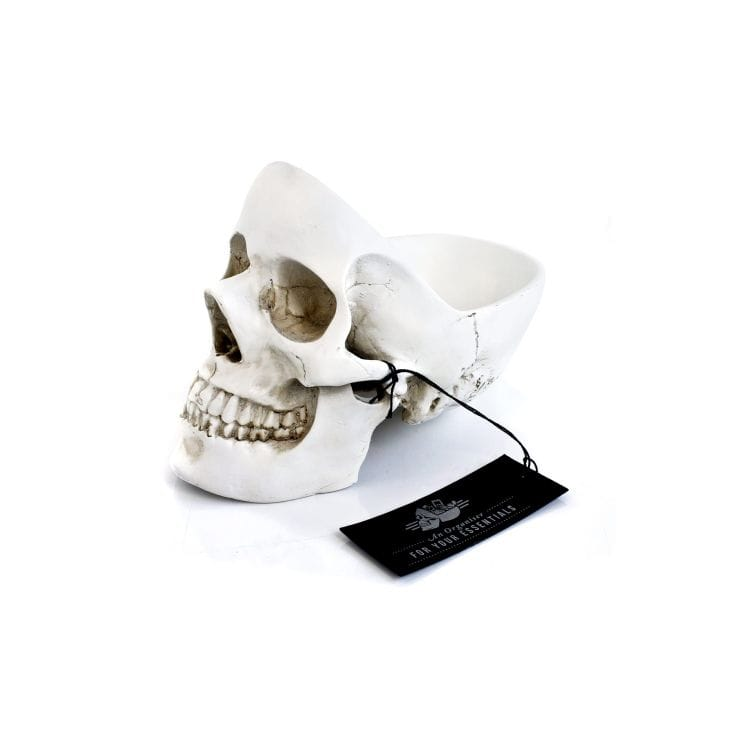 Skull Desk Tidy, £26.99, Find Me A Gift