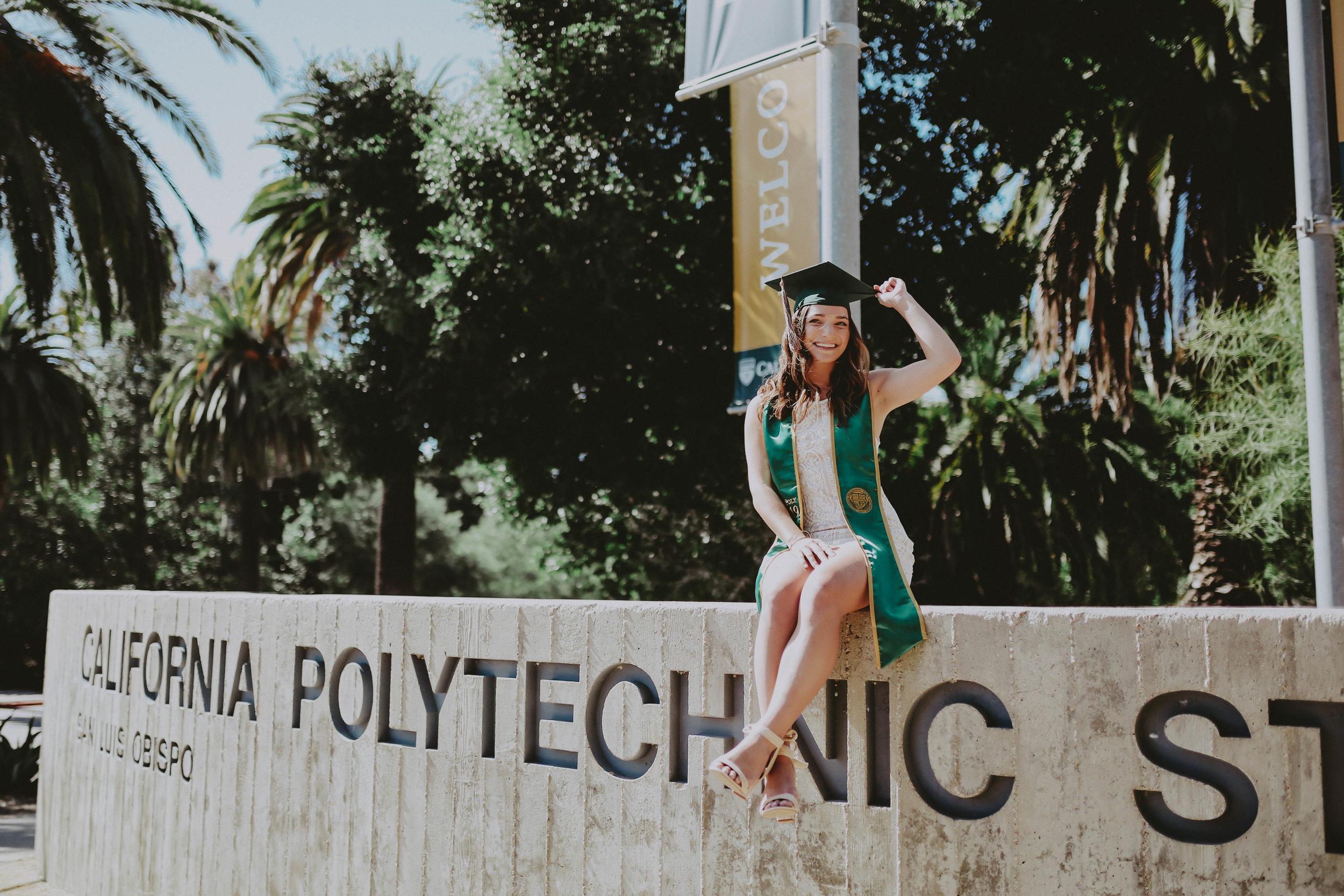San Luis Obispo Photography | Cal Poly Grad
