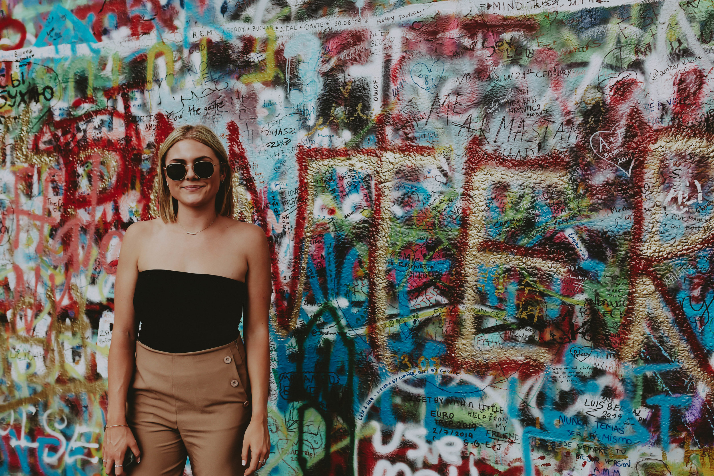 The Lennon Wall | Prague Travel Tips on a Budget