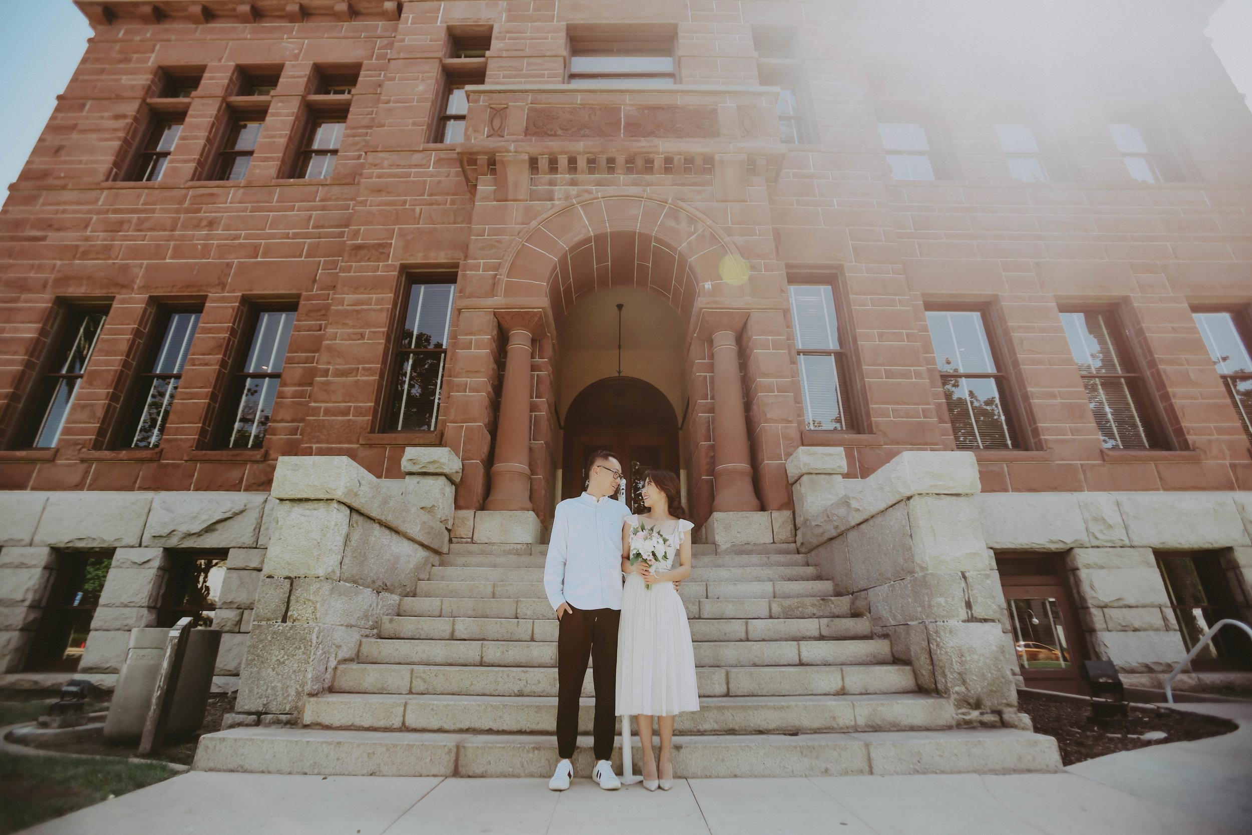 Orange County Wedding Photographer | Santa Ana, CA Old Orange County Courthouse Wedding