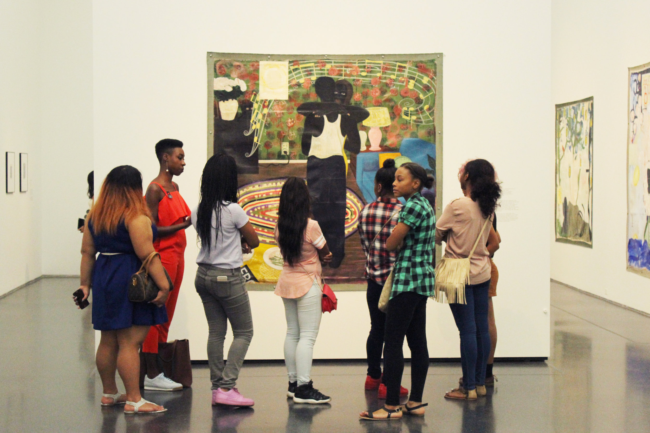 Field Visit to Kerry James Marshall's, 'Mastry' at the Museum of Contemporary Art Chicago