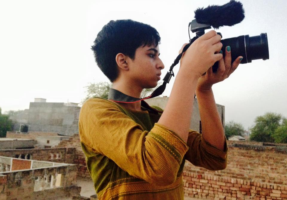 SONALI UDAYBABU,   Camera  :    Sonali is a queer feminist activist, filmmaker, and magazine editor. She has been involved in social justice and documentary filmmaking since her teens, and finds intrigue & meaning in stories that push boundaries in the ways that make up the world.