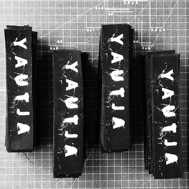 canvas patches for Yautja #yautja #yautjayautjayautjayautja #blackflag #yautjayautja