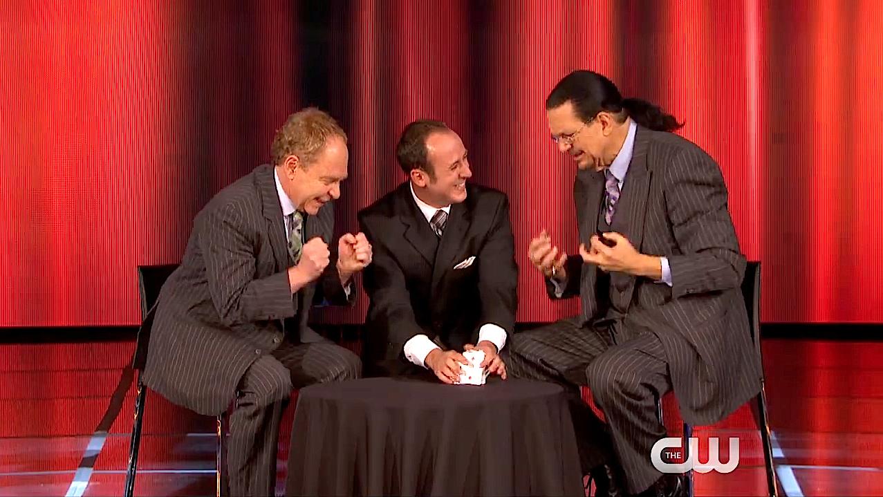 Kostya, Penn and Teller.jpg
