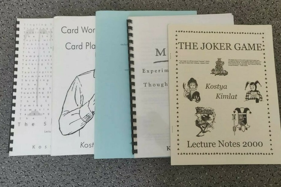 Lecture Notes, 2000, 2002, 2003, 2005