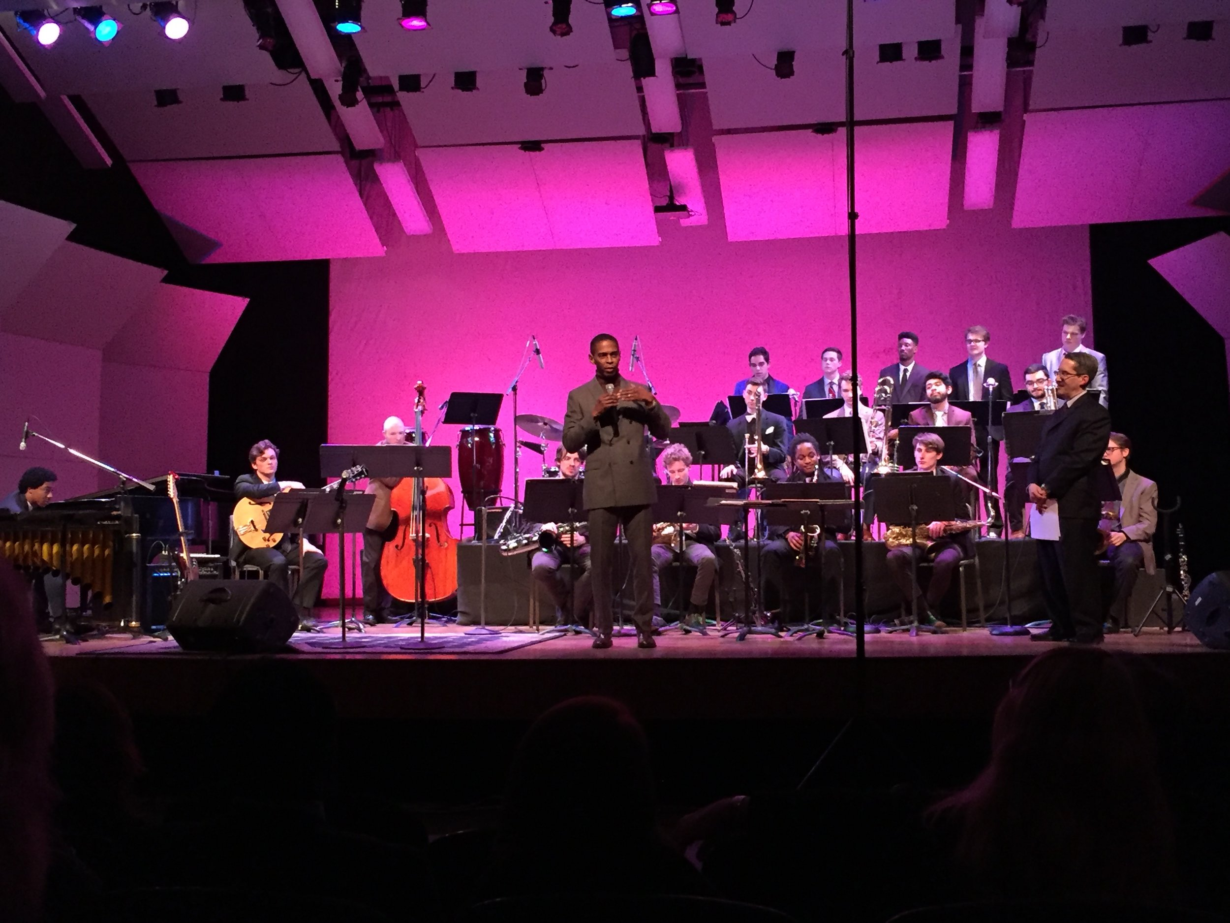 VCU Jazz Ensemble featuring Guest Conductor Richmond Commonwealth's Attorney Micheal N. Herring, February 2018