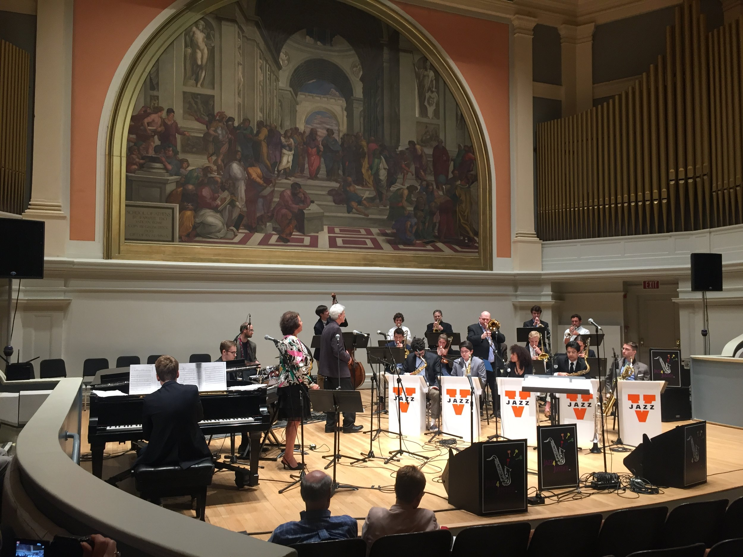The UVA Jazz Ensemble, April 2018