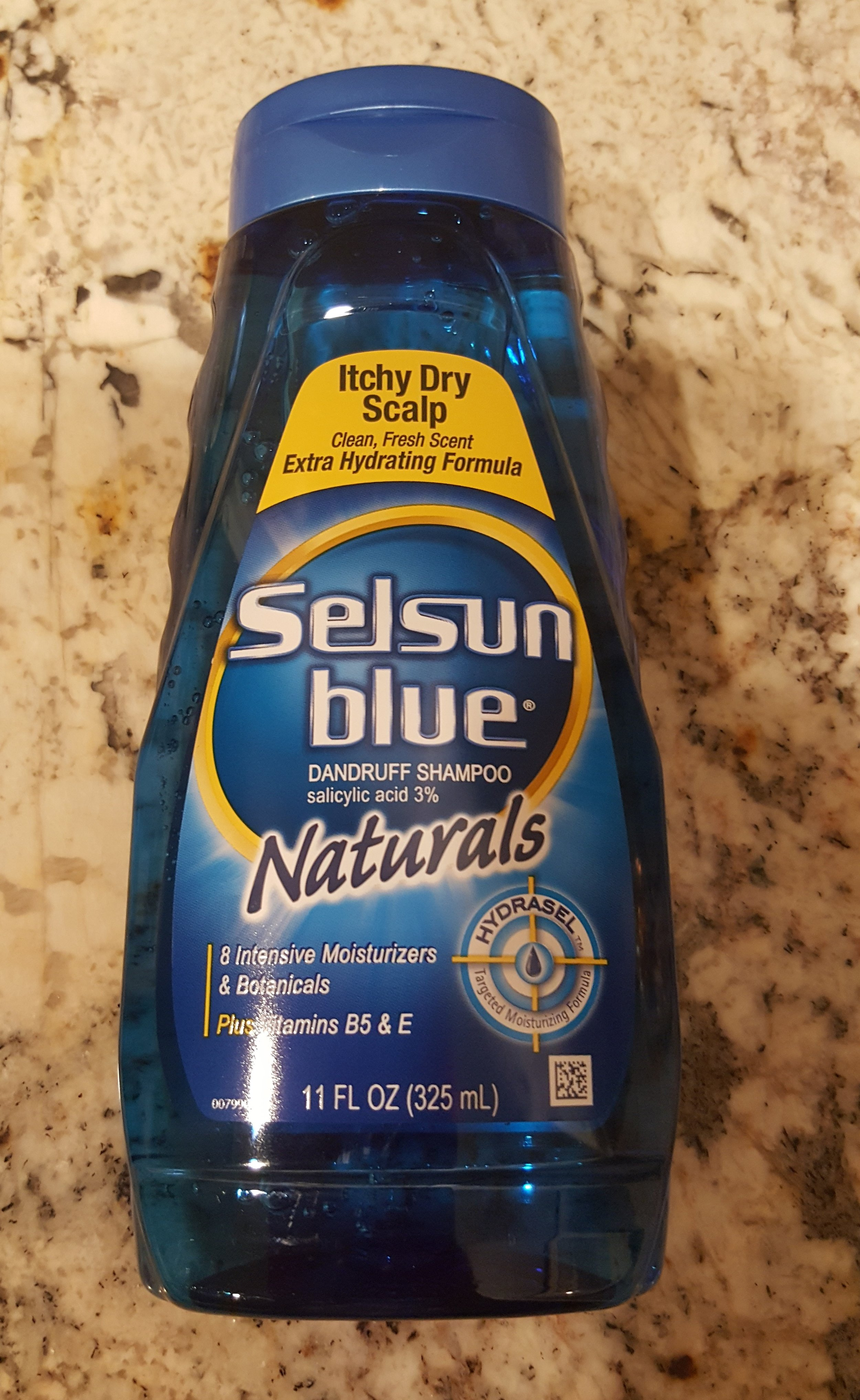 I wash my face with this about twice a week.