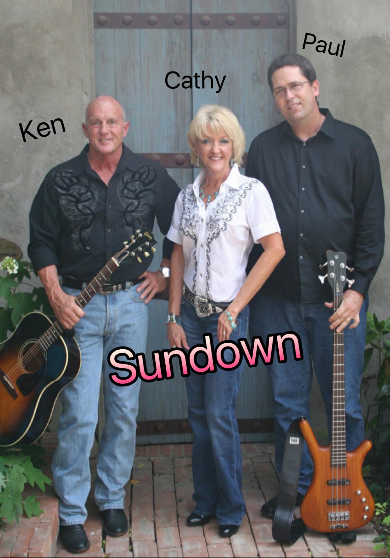 Our Band, Sundown at Louisiana Street Grill Friday January 6th....7:30 till 10:30