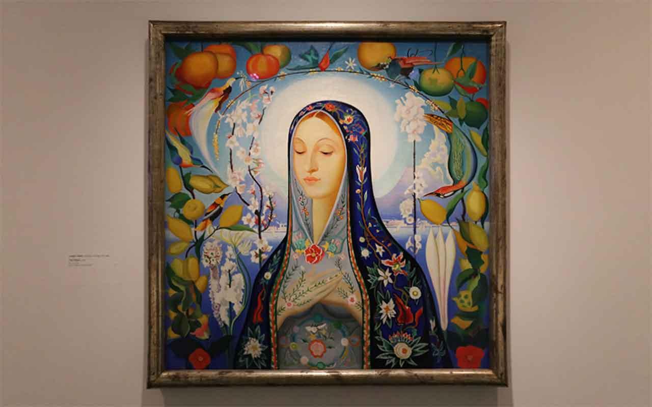 The Virgin by Joseph Stella
